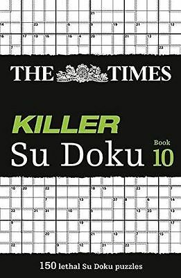 The Times Killer Su Doku Book 10 - 0007516940
