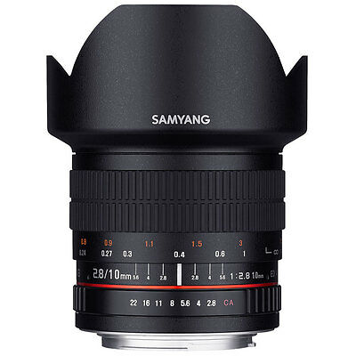 Samyang 10mm F2.8 ED AS NCS CS Lens in Canon Fit