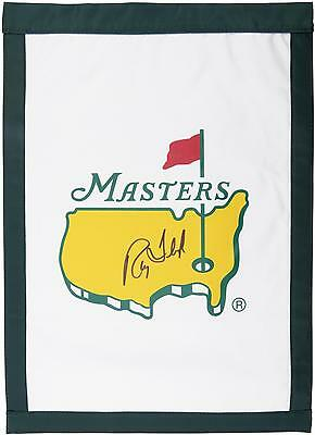 Ray Floyd Autographed Undated Masters Golf Pin Flag