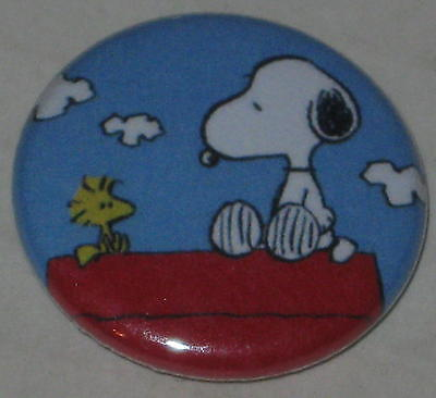 Snoopy & Woodstock Pin 1""