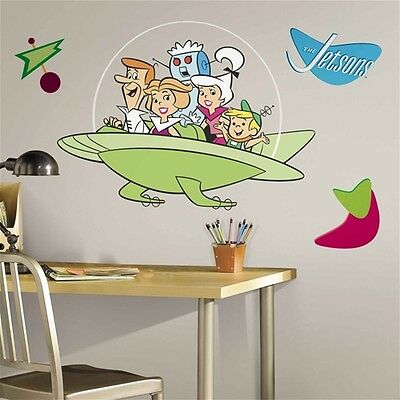 The Jetsons Giant Peel and Stick Wall Decal Applique, NEW SEALED