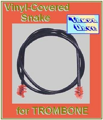 TROMBONE SNAKE vinyl-cover wire cleaning brush    *NEW*