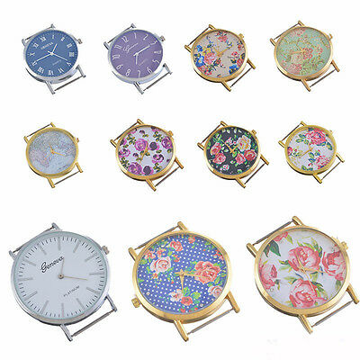 Fashion Watch Face Flower Floral Print for Watch Jewellery Making Craft DIY