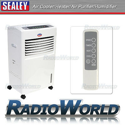 Sealey Multi-function 4 in 1 Air Cooler Heater Purifier Humidifier Home Office