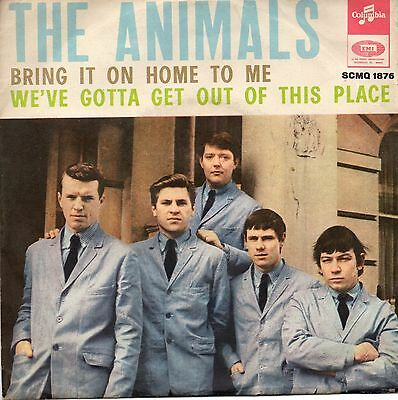 The Animals 45 Giri Bring It On Home To Me Ps Italy Original