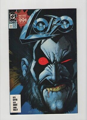 Lobo 4 Piece Lot - Mini Series Christmas Special & More - 1990 (Grade 9.2) WH