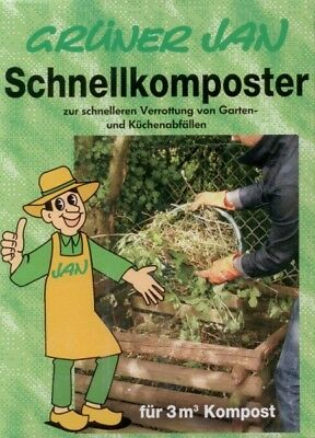 Grüner Jan Quick composter 2,5 kg Garden Waste Rotting help