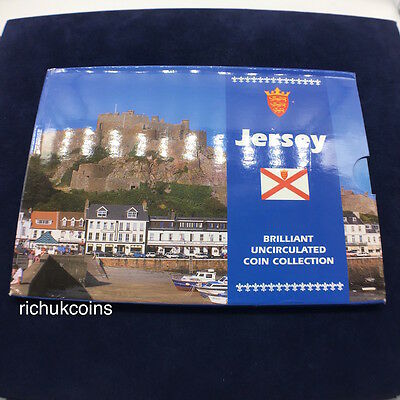 [1997 JEP MSet]1x Jersey BU Mint Set Coin Collection (9 coins)-Sealed