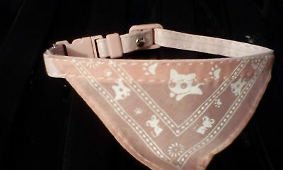 Pink Kitty Bandanna  Uk Seller New Item • EUR 3,24