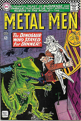 Metal Men Comic Book #18, DC Comics 1966 VERY FINE-