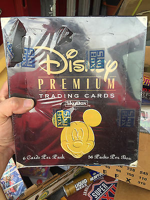 1995 SKYBOX DISNEY PREMIUM trading cards wax packed sealed