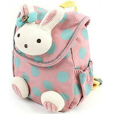 2016 Anti-lost Kids Baby Animal Rabbit Backpack Toddler Kids School Bag Shoulder