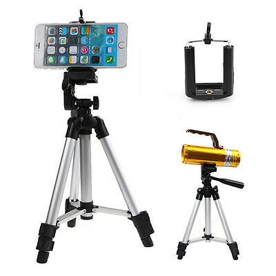 Camera Tripod Mount Stand Holder Extendable Legs for iPhone Samsung Mobile Phone