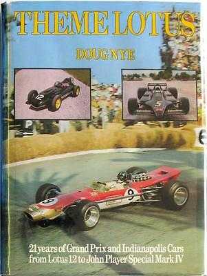 Theme Lotus - Doug Nye Isbn:0900549408 Car Book