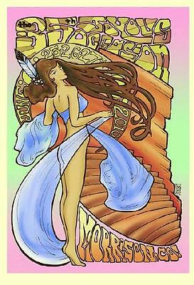 Widespread Panic Red Rocks 2010 Concert Poster Serlo