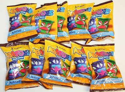 Panini Abatons Totally Totems - 10 Packs (20 Abatons + 20 Stickers) - toys NEW