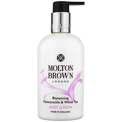 NEW Molton Brown Blossoming Honeysuckle & White Tea Body Lotion 300ml FREE P&P