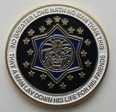 Arkansas State Police Challenge Coin - Older Design - Made In The Usa!!!