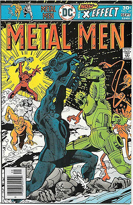 Metal Men Comic Book #47, DC Comics 1976 VERY FINE+