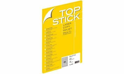 TOP STICK Universal-Etiketten, 96,5 x 33,9 mm, weiß