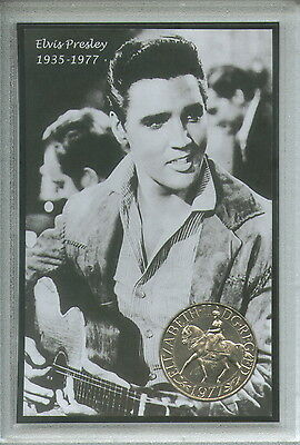 Elvis Presley The King of Rock & and Roll Coin Music Retro Vintage Gift Set 1977