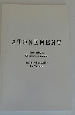 ATONEMENT FYC For Your Consideration screenplay script book