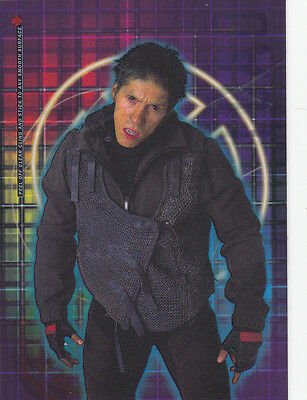 X-Men The Movie Topps 2000 Clear Cling Card Cl10 Toad
