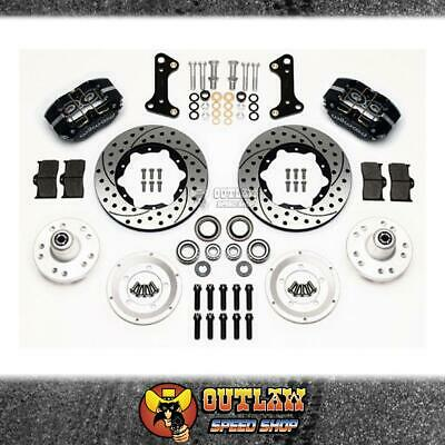 Wilwood Dynapro Dust-Boot Pro Series Front Brake Kit Suit Camaro - Wil14013202D