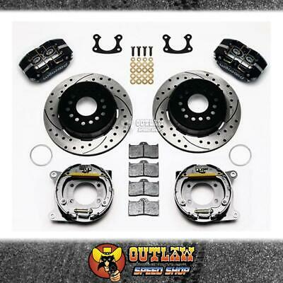 Wilwood Dust Boot Rear Park Brake Kit Suit Ford Small Bearing - Wil14013205D