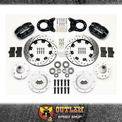 Wilwood Dustboot Front Brake Kit Ford Suit 63-69 Falcon Couger - Wil14013344D