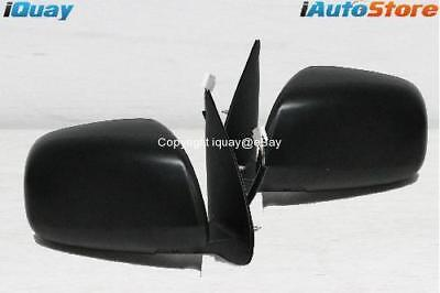 Toyota Hilux '05-'13 Ute BLACK Electric Side Door Mirrors PAIR LH+RH NEW