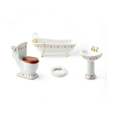 Dolls House 4442 Luxury Victorian Bad Bathroom 1:12 für Puppenhaus NEU!      #