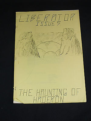 Blakes 7 - LIBERATOR Issue 5 - The Haunting of Haderon - Liberator Popular Front