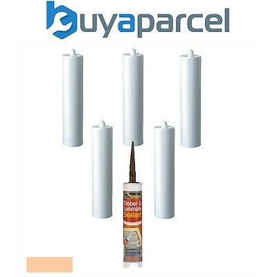 Everbuild Timber and Laminate Sealant Beech C3 Size Pack of 6