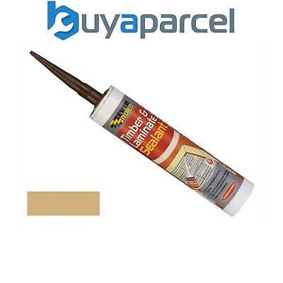 Everbuild Timber and Laminate Sealant Oak C3 Size Cartridge