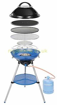 CampinGaz Party Grill 600 Compact 4 kW Portable Gas Camping Picnic BBQ Barbecue