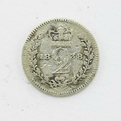1838 Queen Victoria Maundy 2d Twopence Lot C1