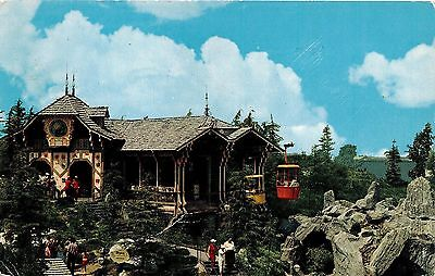 Disneyland Skyride Chrome Postcard