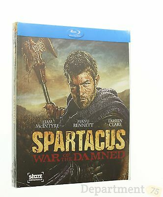 Blu ray Spartacus War of The Damned
