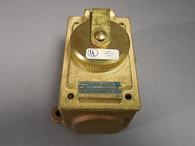 Russell & Stoll 3764 Brass & Bronze Receptacle - NEW