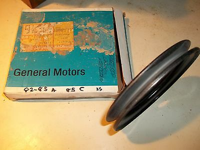 NOS 1982-1985 GM A Body, 1985 GM C Body Pulley, Vacuum Pump 8.280 25500492