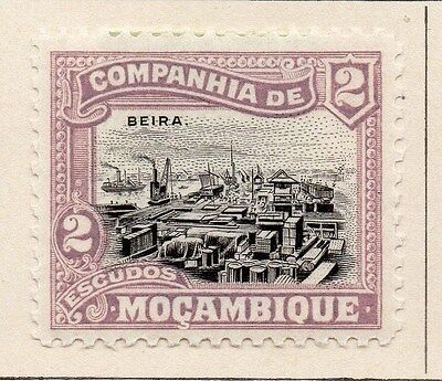 Mozambique Company 1925 Early Issue Fine Mint Hinged 2E. 062522