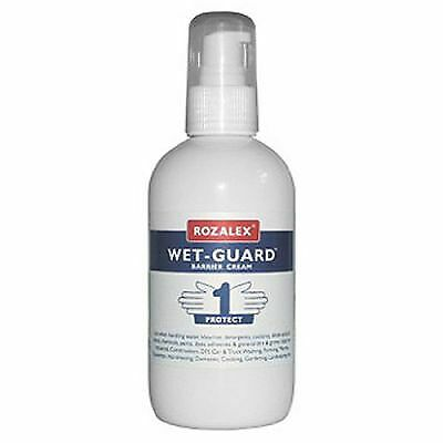 Rozalex Wet-Guard Barrier Cream 250ml Pump Bottle Hand Sanitiser/Protection
