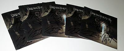 Dream Theater REAL hand SIGNED Black Clouds Silver Linings CD cover Portnoy COA
