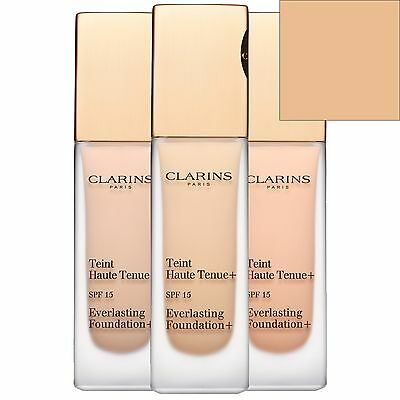 Clarins Everlasting Liquid Foundation SPF15 Honey 110 30ml for her BRAND NEW
