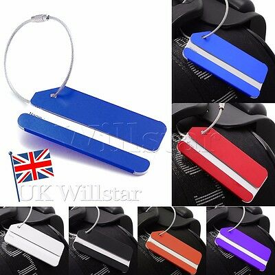 Card Luggage Tag Suitcase Name Address Labels ID Holiday Travel Bag Baggage Tags