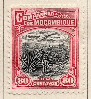 Mozambique Company 1925 Early Issue Fine Mint Hinged 80c. 062520