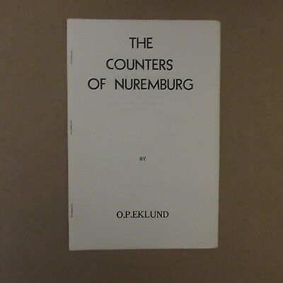 The Counters of Nuremburg by O.P. Eklund Coin Pamphlet