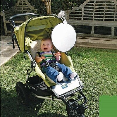 Dreambaby Portable Clip-on Sunshade with UV Indicator for Prams and Cars