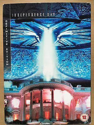 Will Smith INDEPENDENCE DAY Sci-Fi Classic ~ Definitive Edition DVD w/ Slipcover